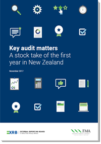 Key audit matters A stock take of the first year in New Zealand